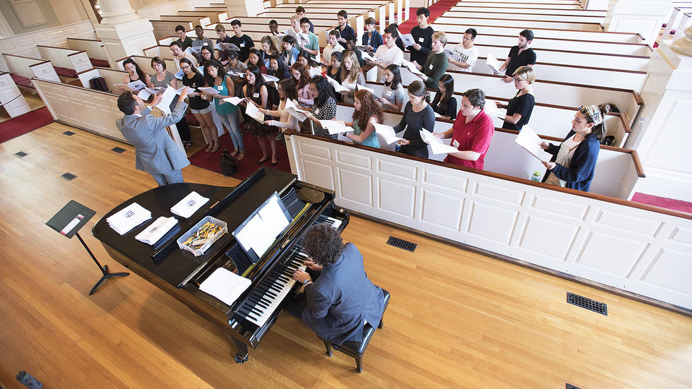 COME SING WITH US! Audition for the Harvard University Choir