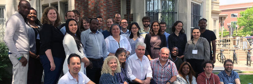 A group of HAALSI researchers gather in Cambridge, MA in June 2019