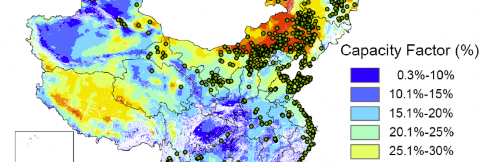 Wind Farms and Wind Potential in China