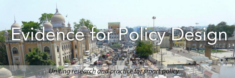 Evidence for Policy Design
