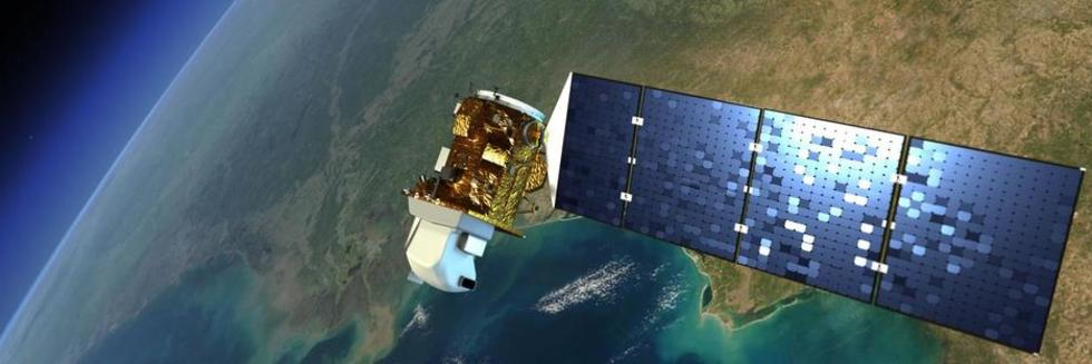 Landsat view of earth
