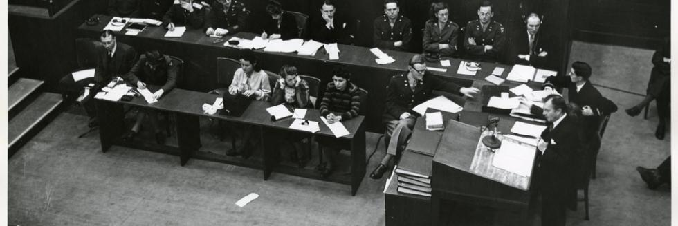 Opening of the Nuremberg Trials