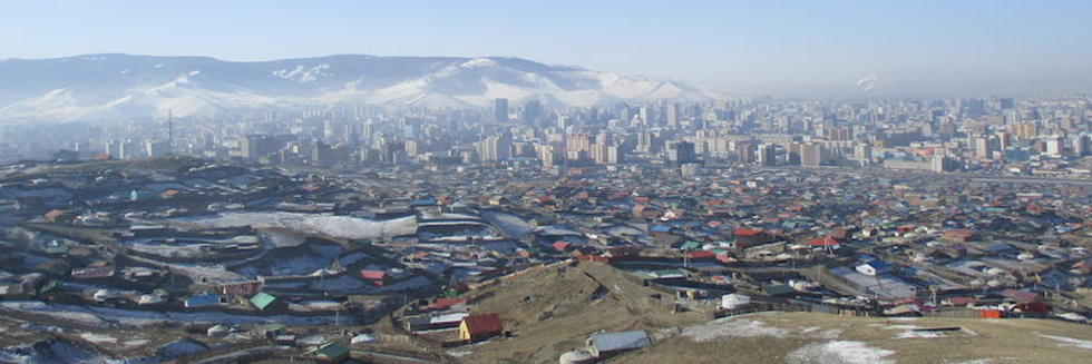 View of Ulaanbaatar photo by Anne-Sophie Pratte