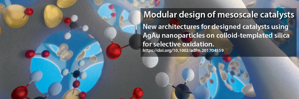 modular design of mesoscale catalysts