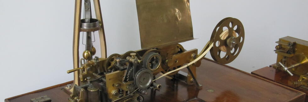 Letter-Printing Telegraph Set built by Siemens and Halske in Saint Petersburg, Russia, ca.1900