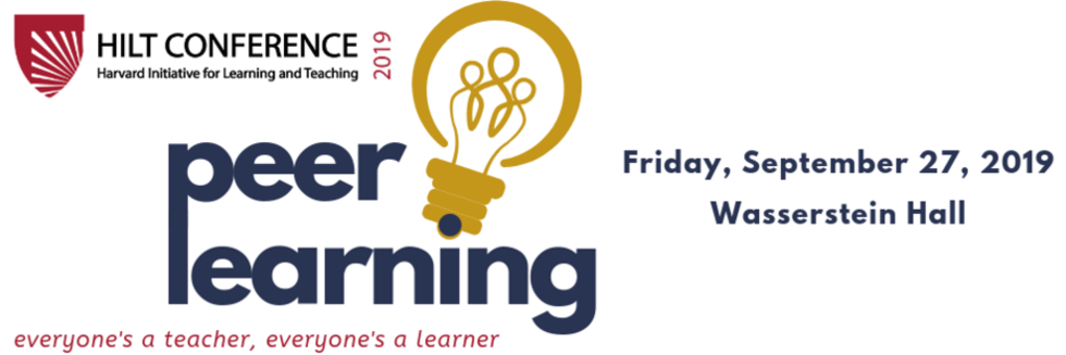 8th annual HILT Conference (September 27, 2019) will focus on peer learning