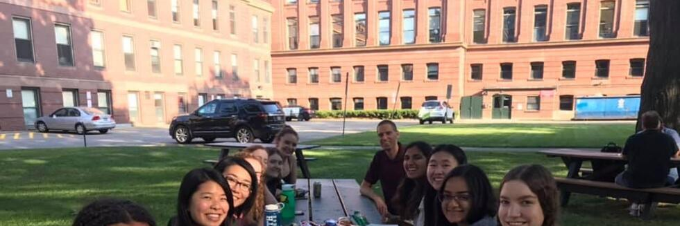 We organized a Meet and Greet for Undergraduate Women in Physics