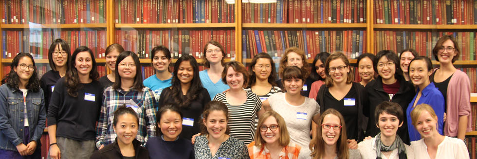 Graduate and undergraduate women in physics meet, catch up, and submit their ideas for events this semester at our Welcome Back dinner.
