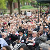 At Harvard Commencement, Merkel tells grads: Break the walls that hem you in