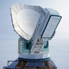 The South Pole Telescope.