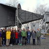 Astronomy 191 Students pose with Bob Wilson