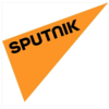 Yellow Triangle with the text Sputnik