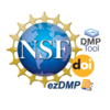 NSF, DMPTool, DOI, ezDMP Logos
