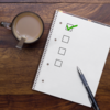 Image of checklist with green checkmark
