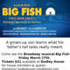 Broadway musical Big Fish -- tickets on sale!