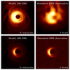 Simulations of imaging the event horizon of Sagittarius A* from space, Roelofs et al. (2019)