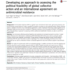 GSL publishes paper on political feasibility of an international AMR agreement