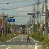 View of Japanese city devastated by nuclear catastrophe.