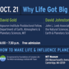 MIT Fall 2014 Soap Box series: Why Life Got Big