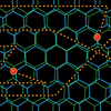 Schematic drawing of the resistivity of magic-angle graphene