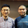 RF Haotian Wang and Post Doc Kun Jiang