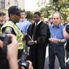 Prof. Jonathan L. Walton arrested during protest