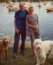 Doug Melton and Gail O'Keefe