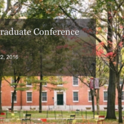 10th Annual Harvard Graduate Conference in Political Theory: Friday October 21 – Saturday October 22, 2016