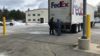 FedEx truck delivering crates with EHT data from SPT