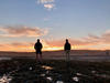 "Ellis Jaewon Yeo, ""Aaron and Dylan Watching Sunrise"" Walvis Bay, Namibia"