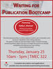 writing for publication bootcamp
